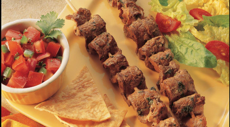 Skewered Southwest Steak