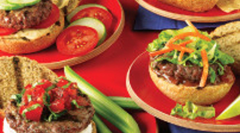 Around the World Mini Burger