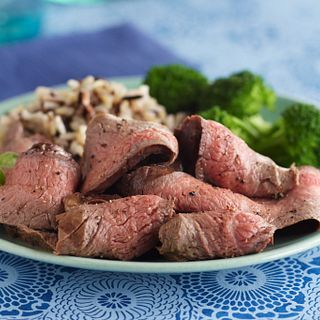Wine-Marinated Grilled Flank Steak