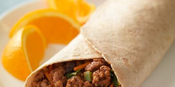 Saucy Beef Wraps