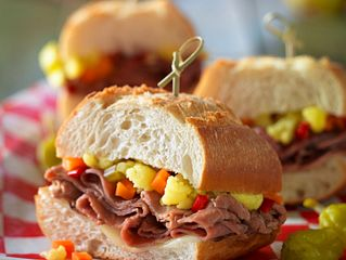 Chicago-Style Italian Beef Sandwiches
