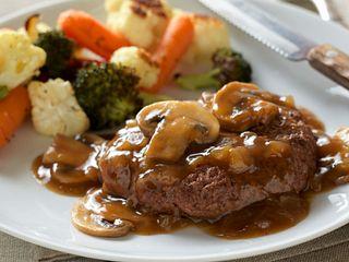 Salisbury Steak with Beef Gravy