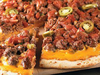 Spicy Nacho Beef Pizza