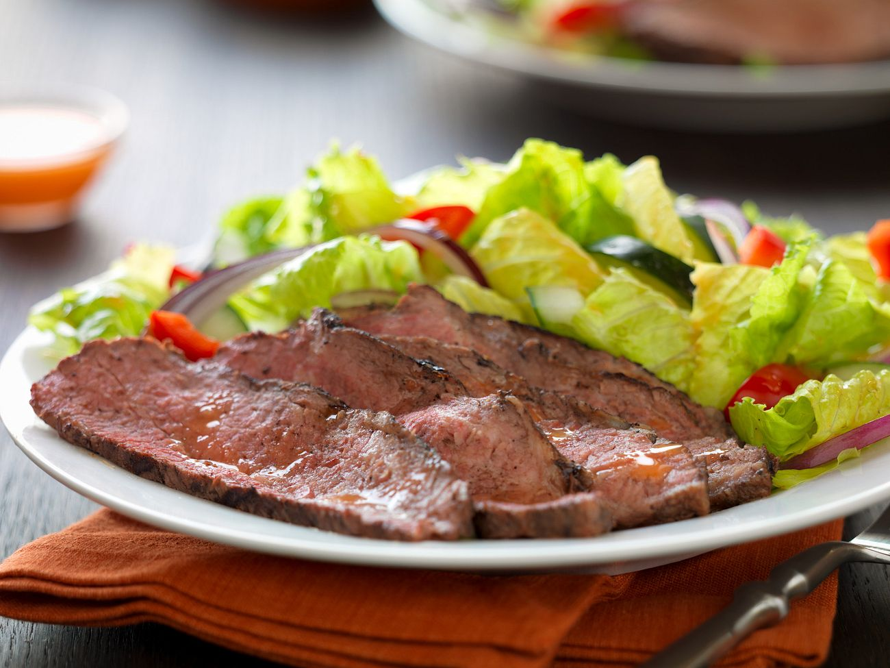 caribbean-jerk-tri-tip-over-basil-lime-salad