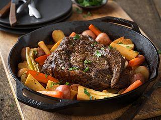 North Woods Hearty Beef Pot Roast
