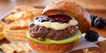 Fruit and Nut Burgers