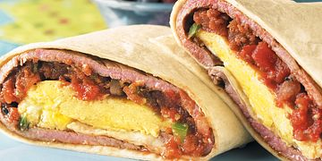Beef Breakfast Burrito