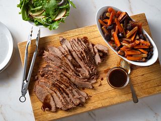 Beef Brisket with Savory Carrots & Prunes