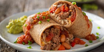Beef and Cheese Burritos