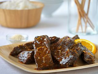 Sweet and Spicy Orange Beef