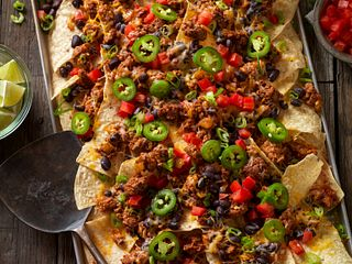 Mexican-Style Beef Sausage Nachos
