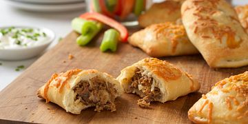 Roast Beef Cheddar Pockets