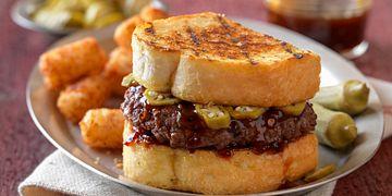 Barbecue Chipotle Burgers
