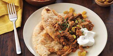 Slow Cooker Shredded Beef - Indian Variation