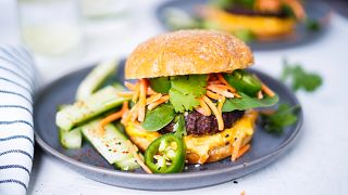 Colorful Burgers
