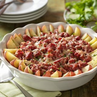 Rustic Corned Beef & Potato Bake