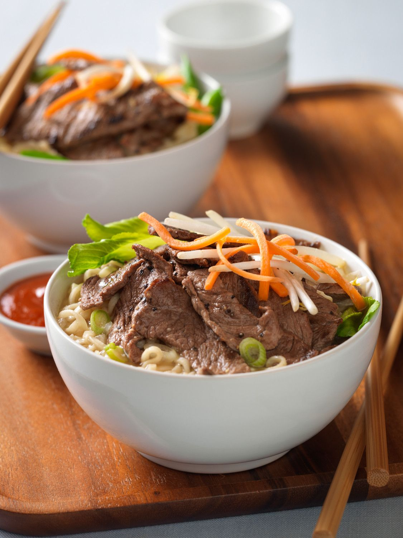 Beef Ramen Noodle Bowl   Beef Loving Texans