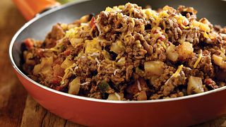 South-Of-The-Border Beef Hash