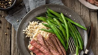 Pepper-Rubbed Beef Chuck Eye Steak