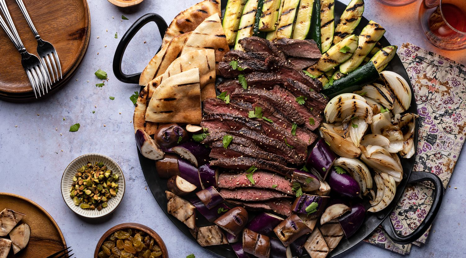 Moroccan Spiced Grilled Steak