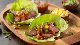 Beef Bulgogi Lettuce Wraps