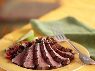 Steak and Black Bean Salad