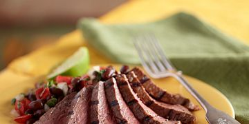 Steak and Black Bean Salad
