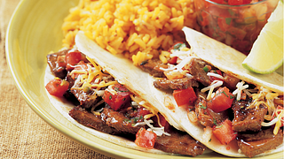 Steak Street Tacos with Spicy Pico de Gallo