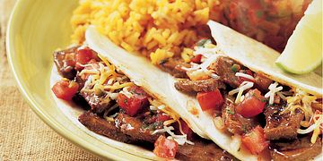 Mini Steak Tacos with Spicy Pico de Gallo