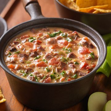 Beef & Kale Queso Fundido