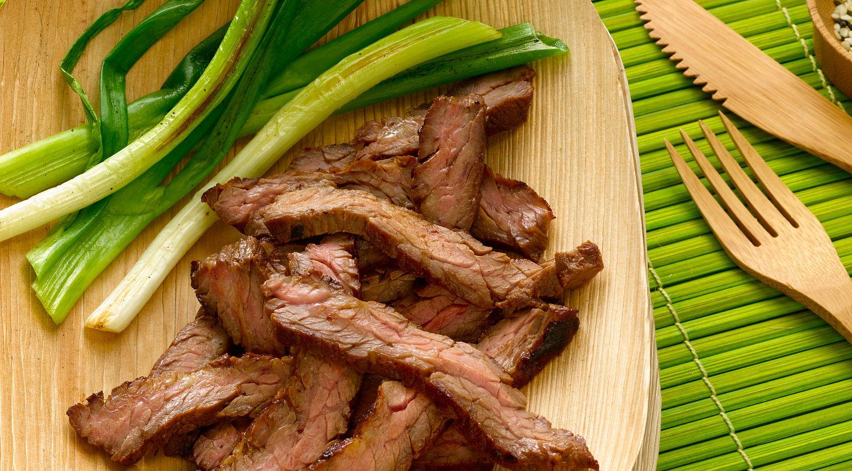 Asian Barbecued Skirt Steak