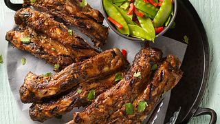 Asian Grilled Beef Ribs