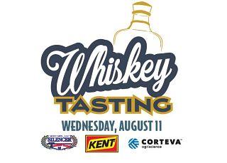 Whiskey Tasting logo and sponsors