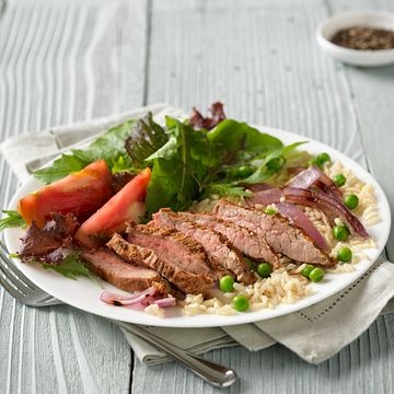 Indian Steak & Rice Bowl