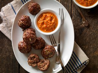 Beef & Vegetable Meatball