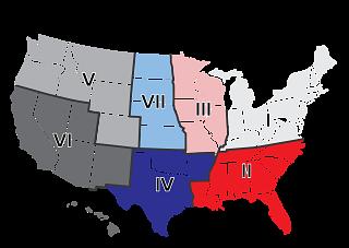 NCBA Region Map