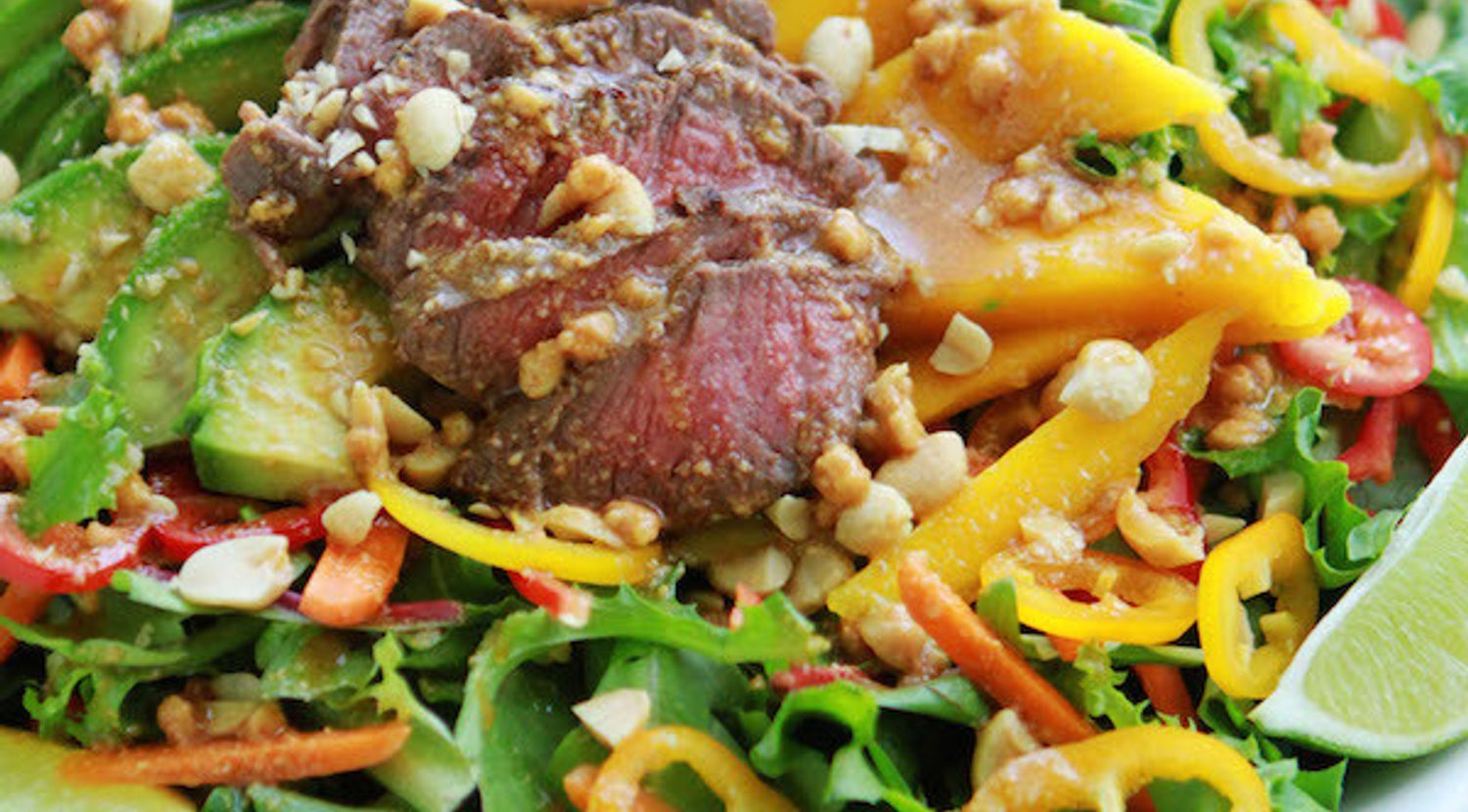 Easy Sirloin Thai Salad