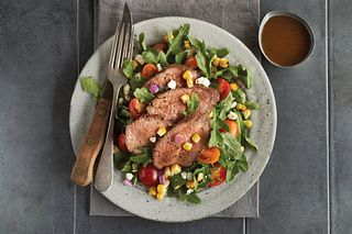Grilled Beef Tri-Tip Salad with Balsamic Dressing