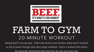 Farm to Gym Workout