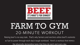 Farm to Gym Workout