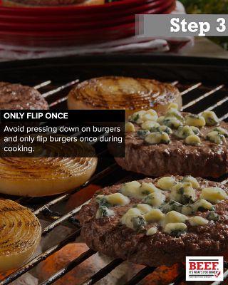 Perfect Burger Step 3