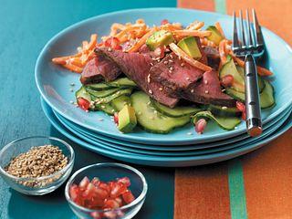 """Beef """"California Roll"""" Salad"""