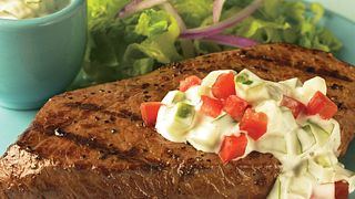Cucumber Ranch Steaks