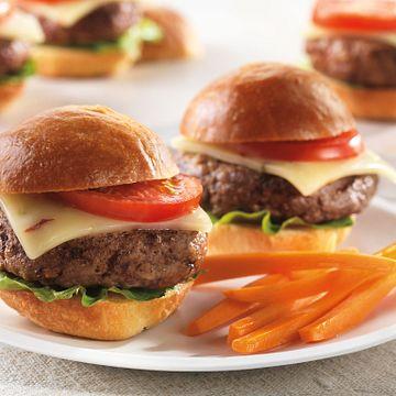 Spicy Cheeseburger Sliders