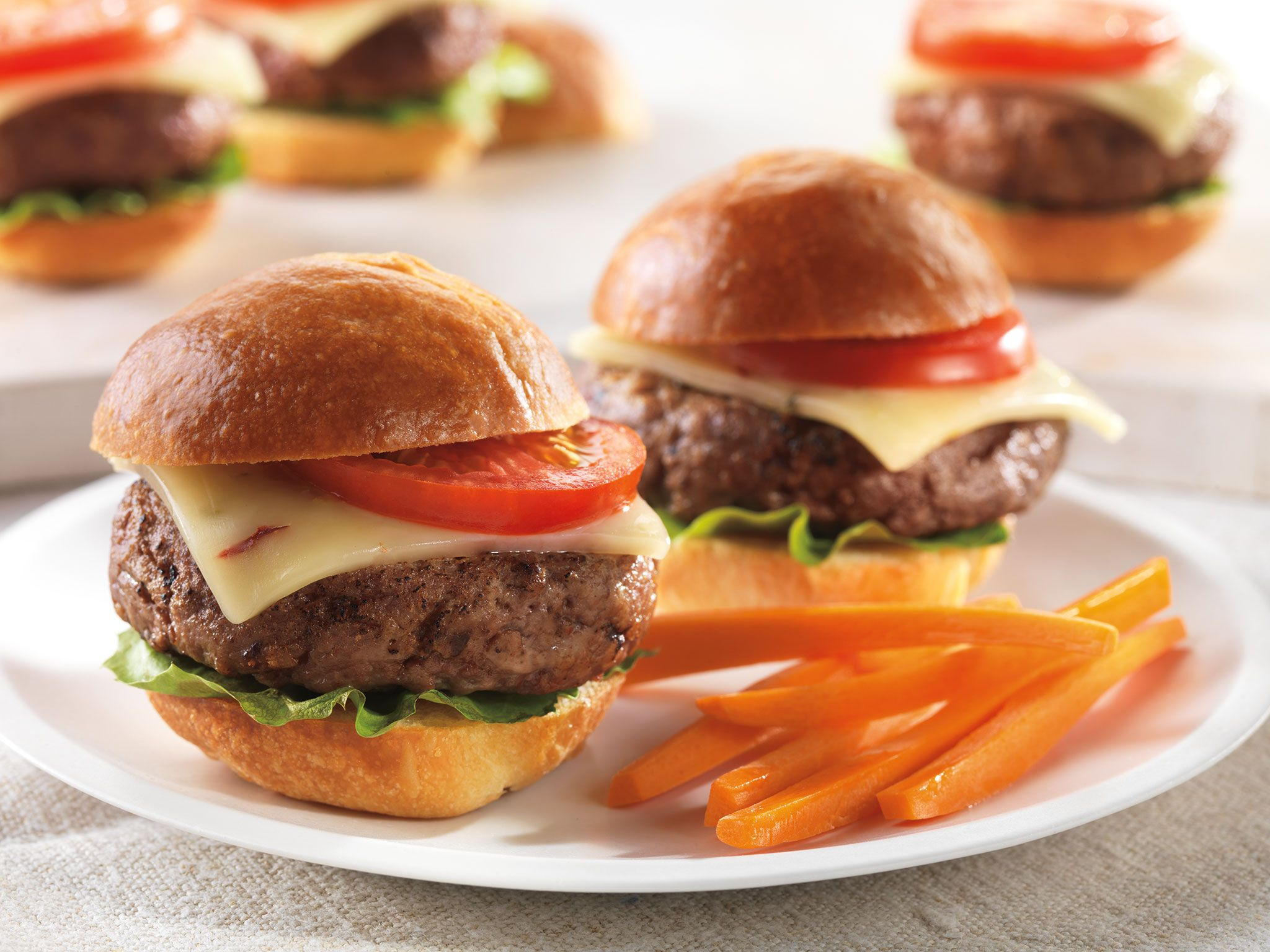 Spicy Cheeseburger Sliders