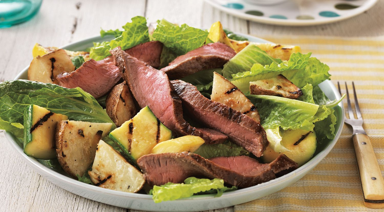Sizzling Steak and Potato Salad
