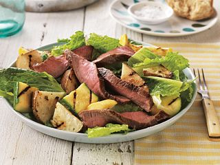 Sizzling Steak and Potato Salad