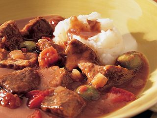 Beef & Green Olive Stew