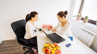 Visit to a nutritionist doctor