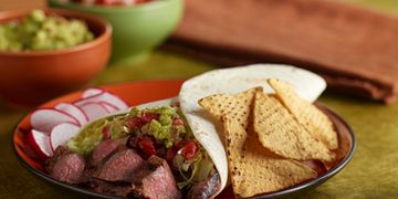 Tequila-Marinated Steak Burritos